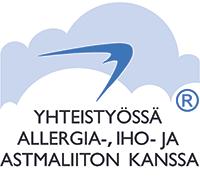 Yhteistyössä Allegia- iho ja astmaliiton kanssa